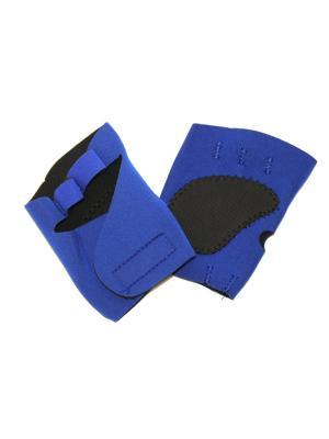 Перчатки спортивные Eleon. Цвет: черный, синий