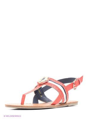 Сандалии U.S. Polo Assn.. Цвет: красный