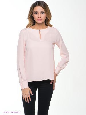 Блузка INCITY. Цвет: персиковый