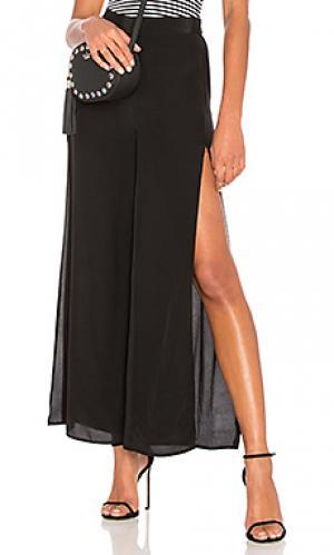 Свободные брюки BLQ BASIQ. Цвет: черный