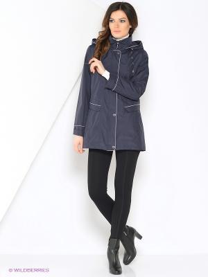 Куртка MERILYN Maritta. Цвет: синий