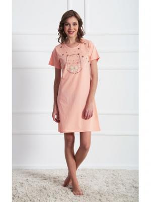 Туника Vienetta Secret. Цвет: розовый