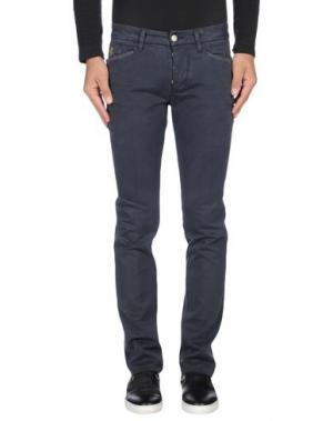 Повседневные брюки D-21. Цвет: синий