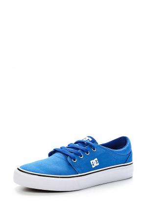 Кеды DC Shoes. Цвет: голубой