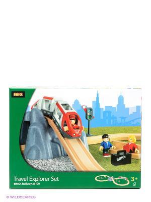 Железная дорога BRIO. Цвет: зеленый, голубой