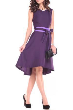 Платье REBECCA TATTI. Цвет: фиолетово-фиалковый