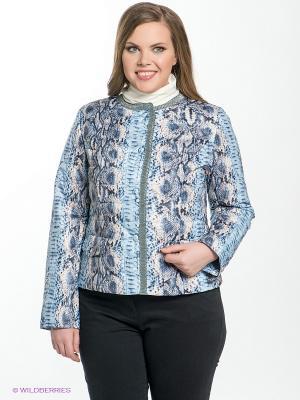 Куртка Sinta Via. Цвет: голубой, синий