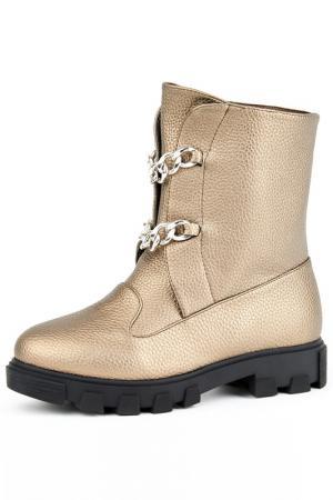 Ботинки Vita Ricca. Цвет: бронзовый