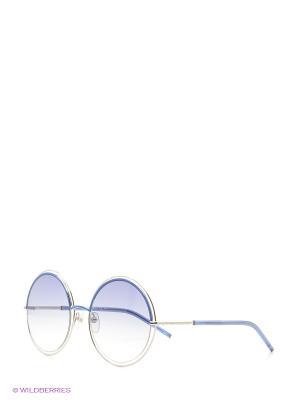 Солнцезащитные очки MARC JACOBS. Цвет: черный, синий