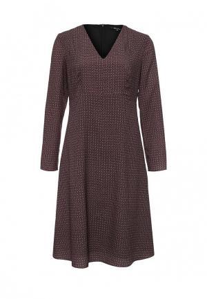 Платье Tom Farr. Цвет: коричневый
