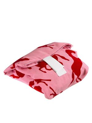Многоразовая упаковка для бутербродов розовая Lurch. Цвет: розовый