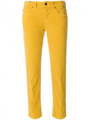 Прямые джинсы Notify. Цвет: жёлтый и оранжевый