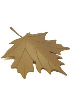 Подпорка для двери Autumn Qualy. Цвет: коричневый