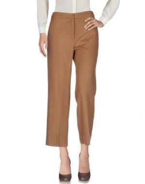 Повседневные брюки EACH X OTHER. Цвет: верблюжий