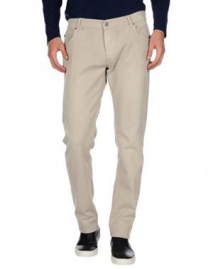 Повседневные брюки JCOLOR. Цвет: светло-серый