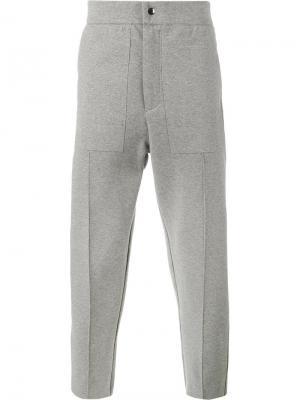 Спортивные штаны Lot78. Цвет: серый