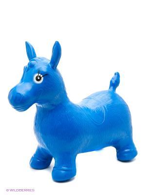 Лошадь-прыгун VELD-CO. Цвет: синий