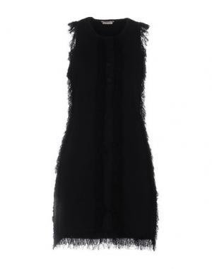 Короткое платье EDUN. Цвет: черный