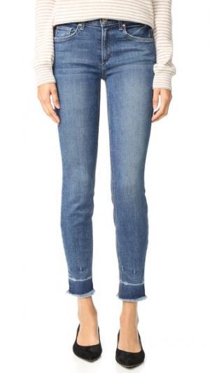 Винтажные джинсы-скинни Newton McGuire Denim. Цвет: iona