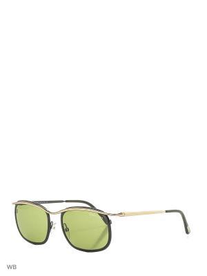 Солнцезащитные очки FT 0419 05N Tom Ford. Цвет: черный, золотистый