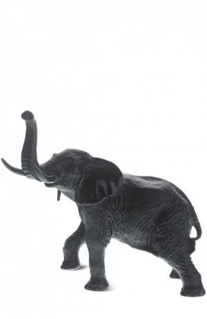 Скульптура Black and White Elephant Daum. Цвет: бесцветный