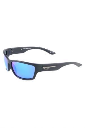 Солнцезащитные очки Legna. Цвет: черный матовый, синий матовый