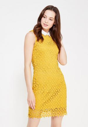 Платье By Swan. Цвет: желтый