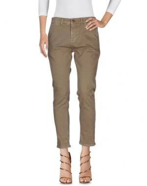 Джинсовые брюки 2W2M. Цвет: хаки