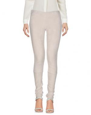 Повседневные брюки APHERO. Цвет: светло-серый