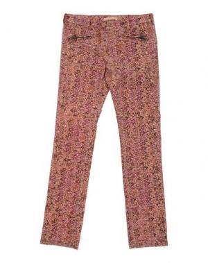 Повседневные брюки SCOTCH R'BELLE. Цвет: коричневый
