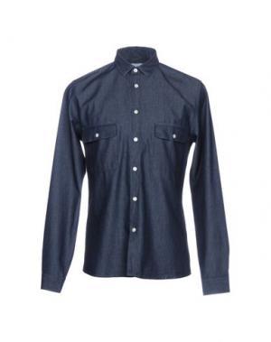 Джинсовая рубашка COMMUNE DE PARIS 1871 + DIMANCHES. Цвет: синий