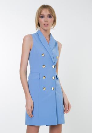 Платье Audrey Right. Цвет: голубой