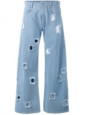 Mia wide leg jeans Rejina Pyo. Цвет: синий