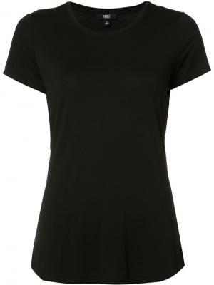 Классическая футболка Paige. Цвет: чёрный