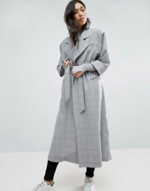Cooper & Stollbrand Легкое пальто. Цвет: синий