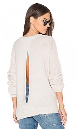 Свитер с открытой спиной greer 360 Sweater. Цвет: беж