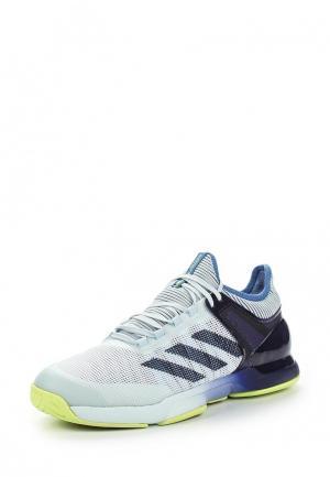 Кроссовки adidas. Цвет: голубой