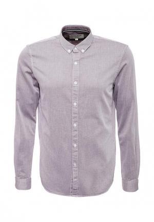 Рубашка Tom Tailor Denim. Цвет: фиолетовый