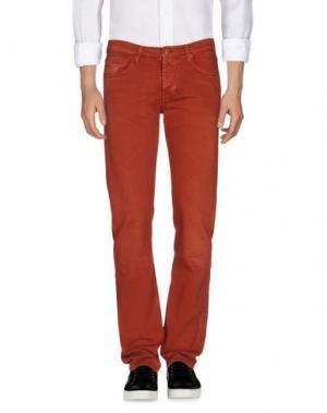 Джинсовые брюки 7 FOR ALL MANKIND. Цвет: ржаво-коричневый