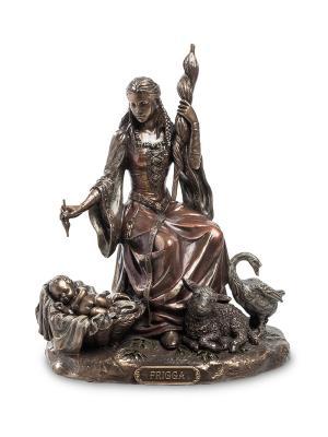 Статуэтка Фригг - богиня любви, брака, домашнего очага и деторождения Veronese. Цвет: бронзовый