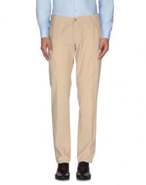 Повседневные брюки BERWICH. Цвет: бежевый