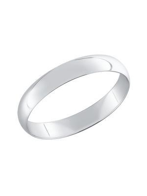 Обручальное кольцо SOKOLOV. Цвет: серебристый