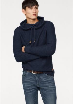 Пуловер JOHN DEVIN. Цвет: синий/меланжевый, черный/меланжевый, экрю меланжевый