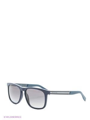 Солнцезащитные очки HUGO BOSS. Цвет: черный
