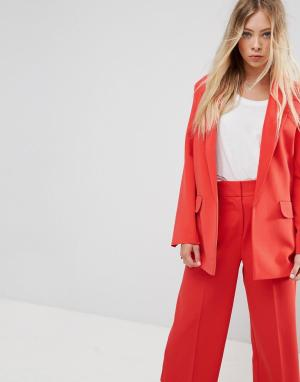 ASOS Блейзер Tailored Mansy. Цвет: оранжевый