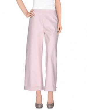 Повседневные брюки ARCHIVIO B. Цвет: светло-розовый