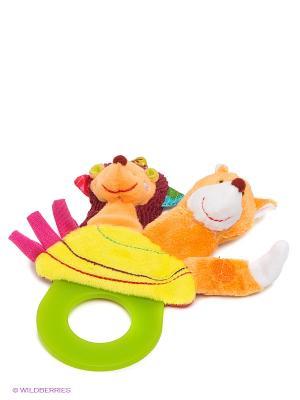 Погремушка Ежик Симон Lilliputiens. Цвет: оранжевый, желтый, зеленый