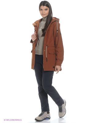 Куртка MILLERTOWN F65 PAR W Jack Wolfskin. Цвет: коричневый