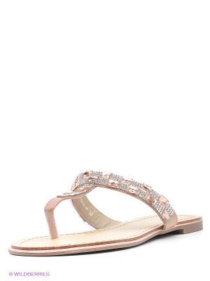 Пантолеты Amazonga. Цвет: бледно-розовый