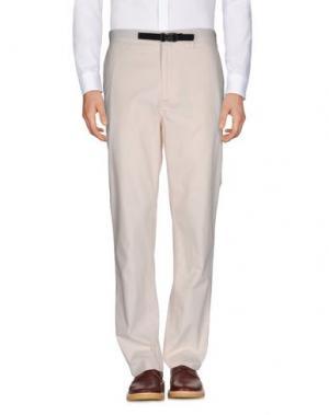 Повседневные брюки NORSE PROJECTS. Цвет: слоновая кость